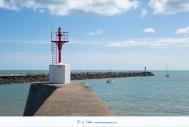 St Gilles Croix de Vie - Les jetées et l'entrée du port