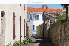 St Gilles Croix de Vie - Ruelles typiques du quartier de St-Gilles