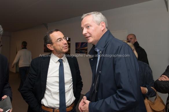 Avec Bruno Retailleau, Sénateur et Président du CR des Pays de la Loire