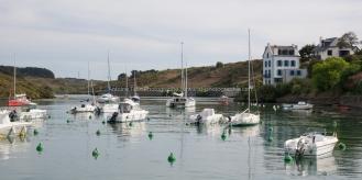 L'arrière-port de Sauzon